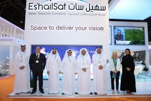 Es'hailSat Team at CABSAT2015